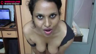 Best Indian Tamil Maid Horny Lily Dirty Chat in Hindi Jerk off Instruction