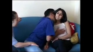 Hot hindu pussy fuck in living room