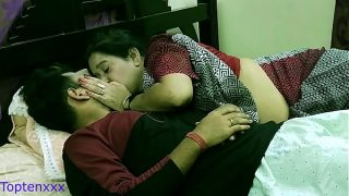 Indian Bengali Milf step mom teaching her step son how to sex with girl friend With clear dirty audio