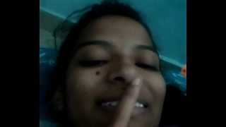 Indian teen tempting on video call