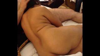 indian wife sucking husband friend cock in hotel