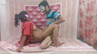 real life hot desi couple sex fucking on hidden camera for money