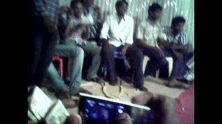 Telugu aunty dance show in public