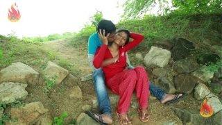 Village Aunty Romance With Neighbour In Outdoor    Latest Telugu Romantic Short